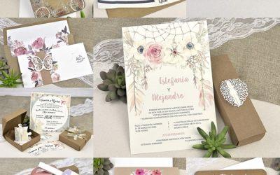¿Cómo escoger la invitación perfecta para tu boda?