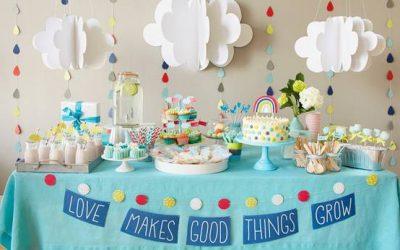 Planificando una fiesta de bautizo o baby shower
