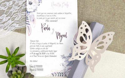 Invitaciones para una boda civil