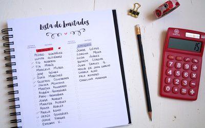 Como hacer la lista de invitados de la boda