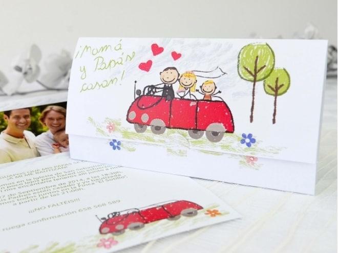 Invitación Dibujo Infantil 32601