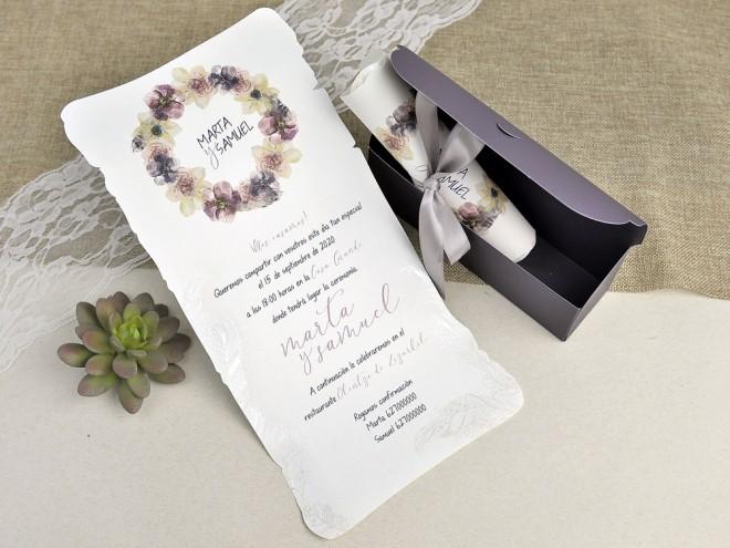 Invitación de boda 39627