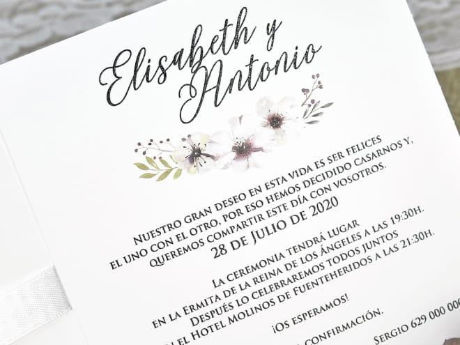 Invitación De Boda 39632 Ceremoniq Invitaciones Online