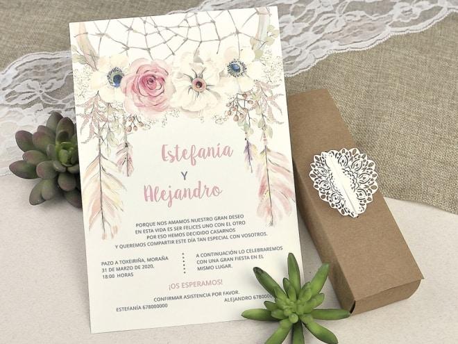 Invitación de boda 39608